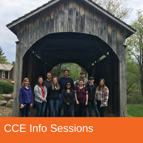 CCE Info Sessions
